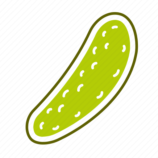 cucumber, food, pickle, vegetable icon