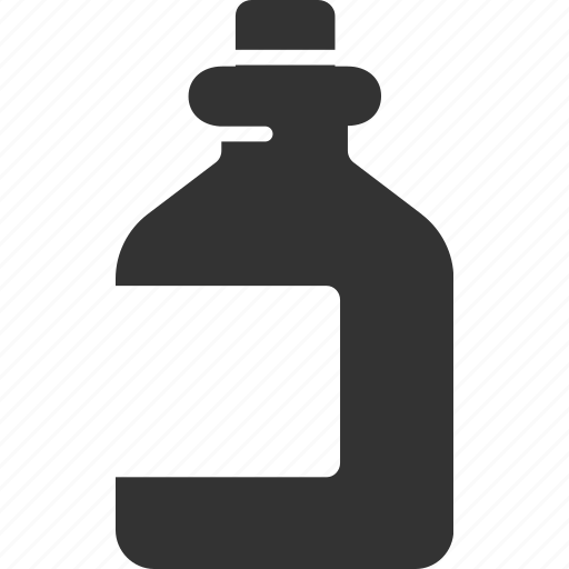 alcohol, bottle, drink, poison icon