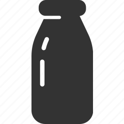 beverage, bottle, drink, milk icon