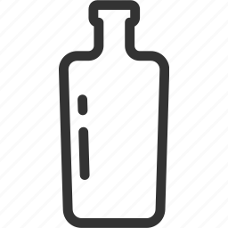 bottle, cocktail, drink, glass, water icon