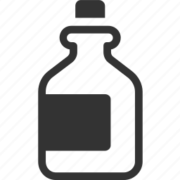alcohol, bottle, drink, poison, rum icon