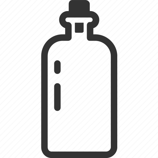 bottle, drink, glass, liquor, water icon