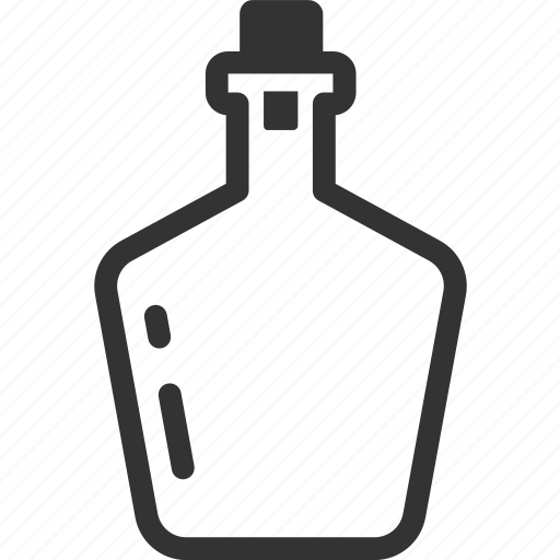 alcohol, beverage, bottle, brandy, brandywine, liquor, whisky icon