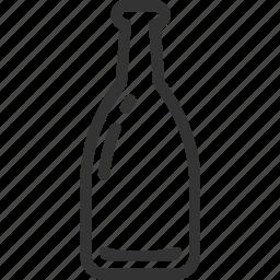 alcohol, bottle, drink, liquor, sake icon