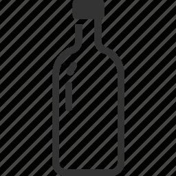 alcohol, bottle, drink, liquor, rum, vodka icon