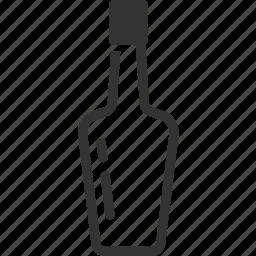alcohol, beverage, bottle, liquor, rum, whisky, wine icon
