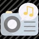 radio, music, sound, player, audio