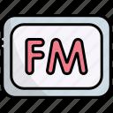 fm, radio, device, communication, signal
