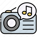 music, radio, sound, player, audio