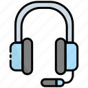 headphone, headset, earphone, music, sound