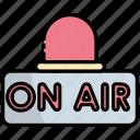 on air, broadcast, radio, live, broadcasting, media