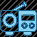 radio, music, audio, communication, device, antenna