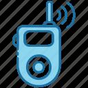 walkie talkie, talkie, transceiver, communication, walkie