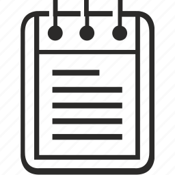data, doc, editor, notepad, text icon