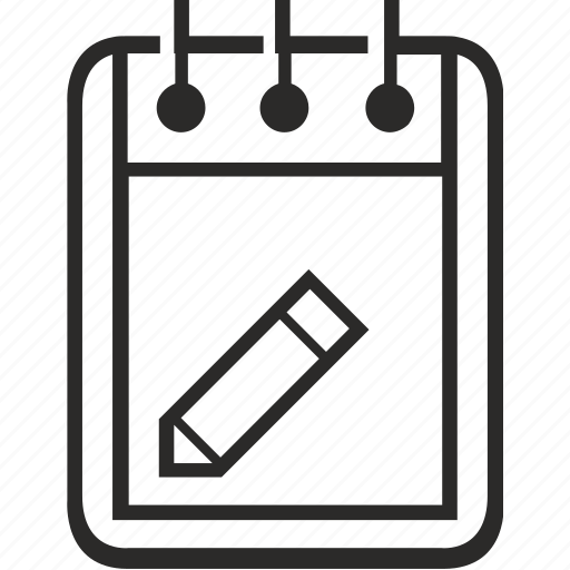 document, edit, editor, notepad, pen, text icon