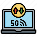 signal, internet, wireless, connection, online, laptop