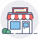 market, merchant, shop, store icon