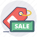 category, discount, price, sale, sales, shopping, tag icon
