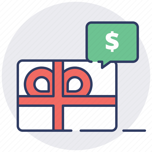 coupon gift card shopping cart voucher icon
