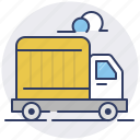 courier, delivery, express, truck icon