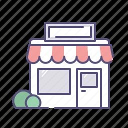 building, ecommerce, market, merchant, shop, shopping, store icon