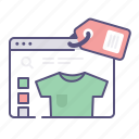 ecommerce, item, online shop, shopping icon