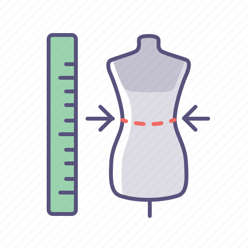 clothes, measure, online shop, ruler, shopping, size, sizes icon