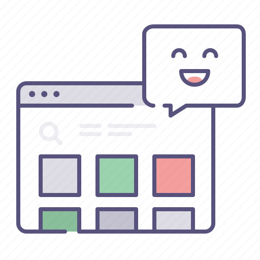 browser, custom, customisation, feedback, items, positive, shop icon