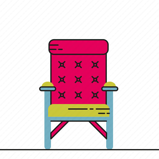 armchair, furniture, living room, seat icon