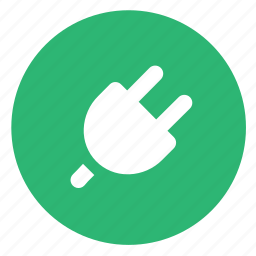 connect, plug, socket icon