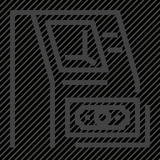 atm, cash, money, terminal icon