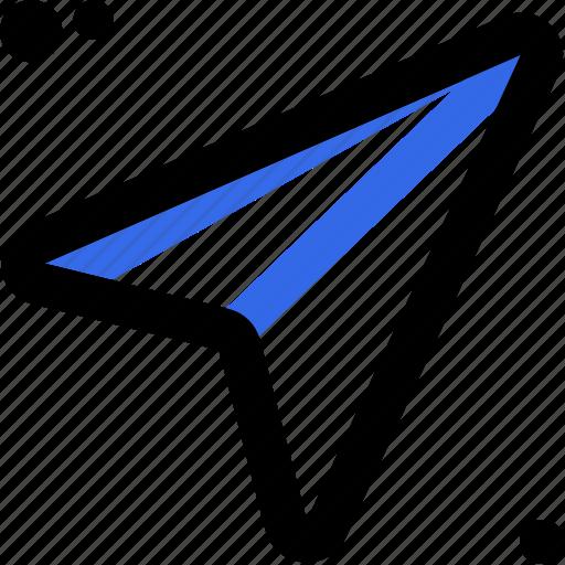 address, arrows, cursor, indicator, location, point, pointer icon