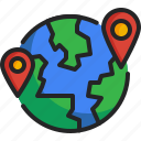 world, earth, location, gps, pin, travel, global