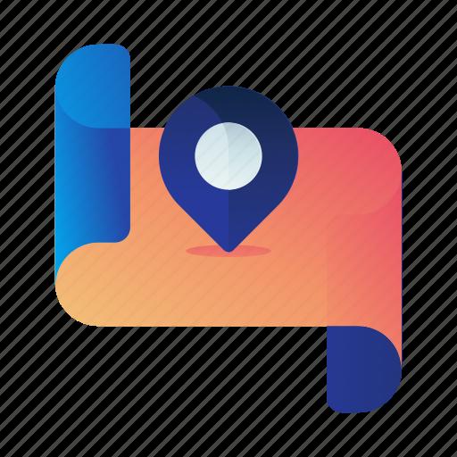 Apri, destination, location, map, navigation icon - Download on Iconfinder