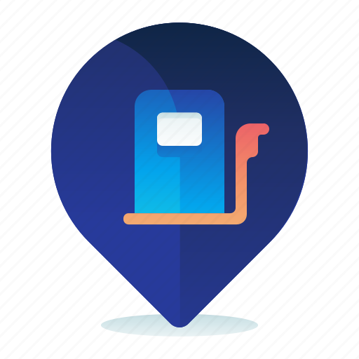 Destination, gas, location, map, navigation, station icon - Download on Iconfinder