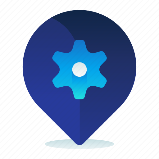Destination, location, navigation, options, settings icon - Download on Iconfinder