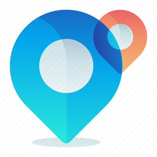 Destination, location, map, multiple, navigation icon - Download on Iconfinder