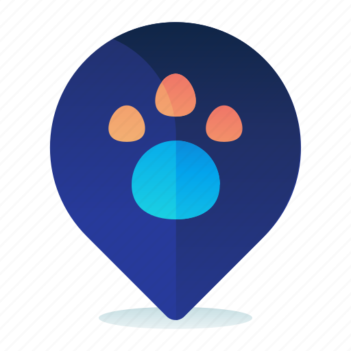 Location, map, navigation, pet, store icon - Download on Iconfinder