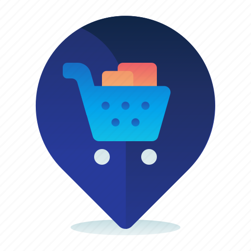 Destination, location, map, navigation, shopping, supermarket icon - Download on Iconfinder