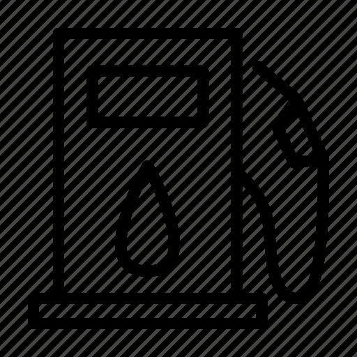 Petrol, gasoline, gas, fuel, pump, station icon - Download on Iconfinder