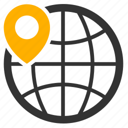 geo, marker, pin, pointer, position icon