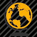 globe, atlas, earth, world icon