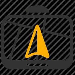 gps, locate, navigate, navigator icon