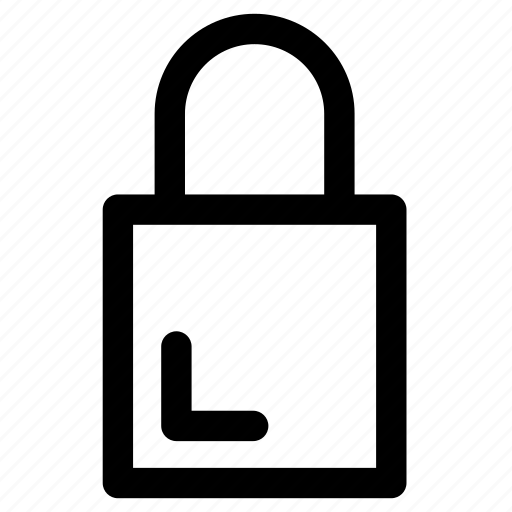 keyhole, lock, locked, padlock, protected, secure, security icon