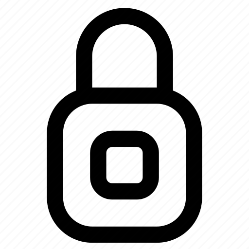 keyhole, lock, locked, padlock, protected, secure, security icon