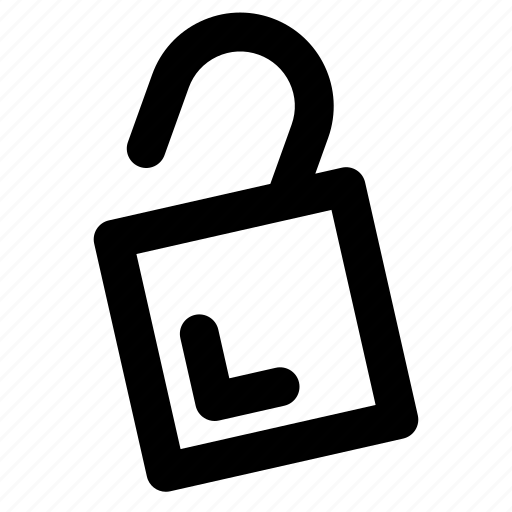 keyhole, lock, locked, padlock, secure, security, unlock icon