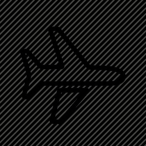 aeroplane, airplane, airport, flight, plane, transportation icon