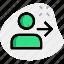 user, enter, web, internet, password, business icon