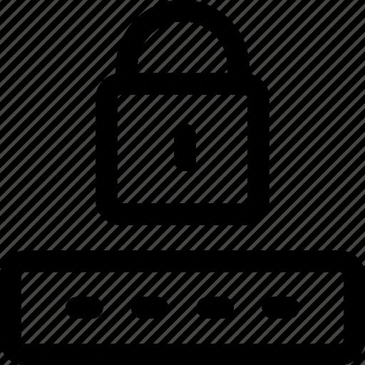 captcha, code, hidden, lock, login, password, security icon