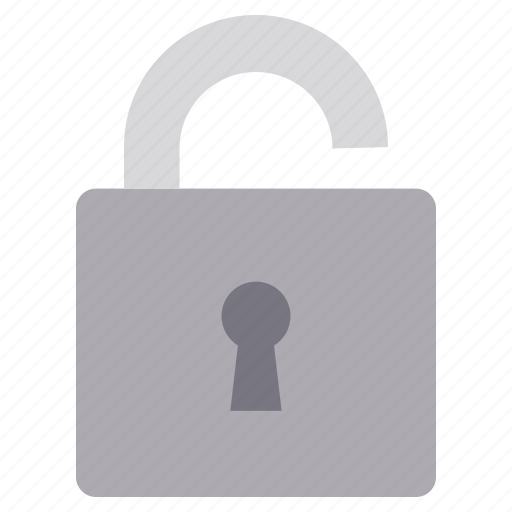 account, data, login, open, unlock icon